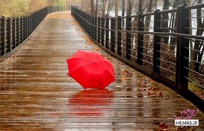 متن عاشقانه روز های بارانی